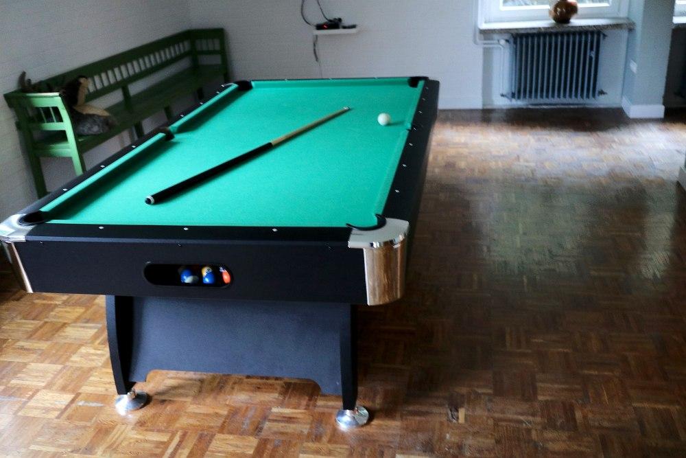 Billardtisch in Clausthal Männerwellness