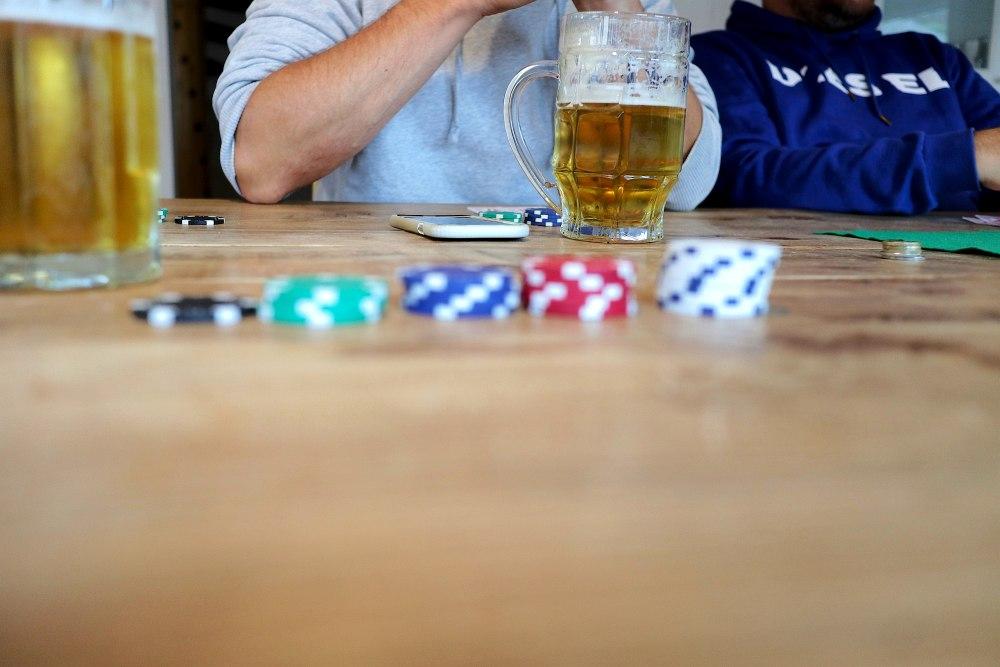Pokern Männerwellness